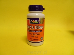 Cats Claw 500 mg 100 Kapsułek